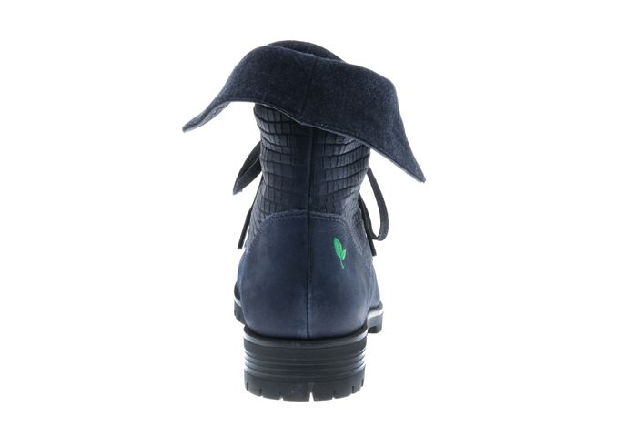 PRETTY&FAIR Blue unique ankle booty -  Bandolero Blue - Velt Blue - PF3008