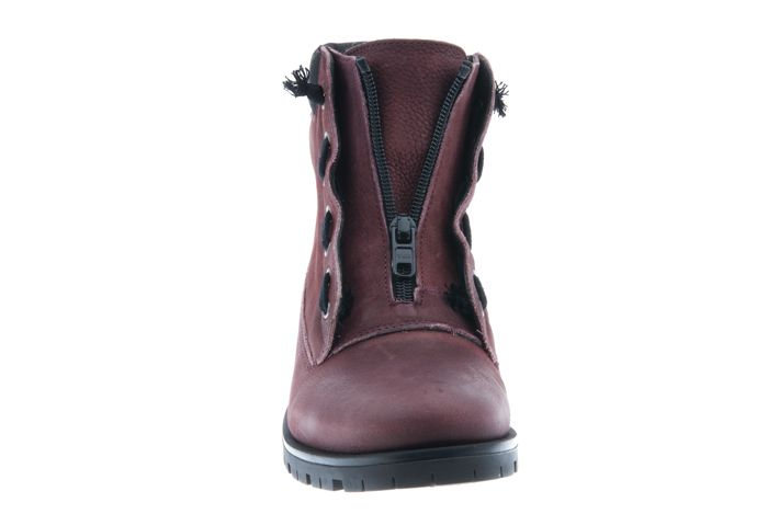 PRETTY&FAIR Bordeaux Ankle booty - Bandolero Bordeaux - Black - PF3007