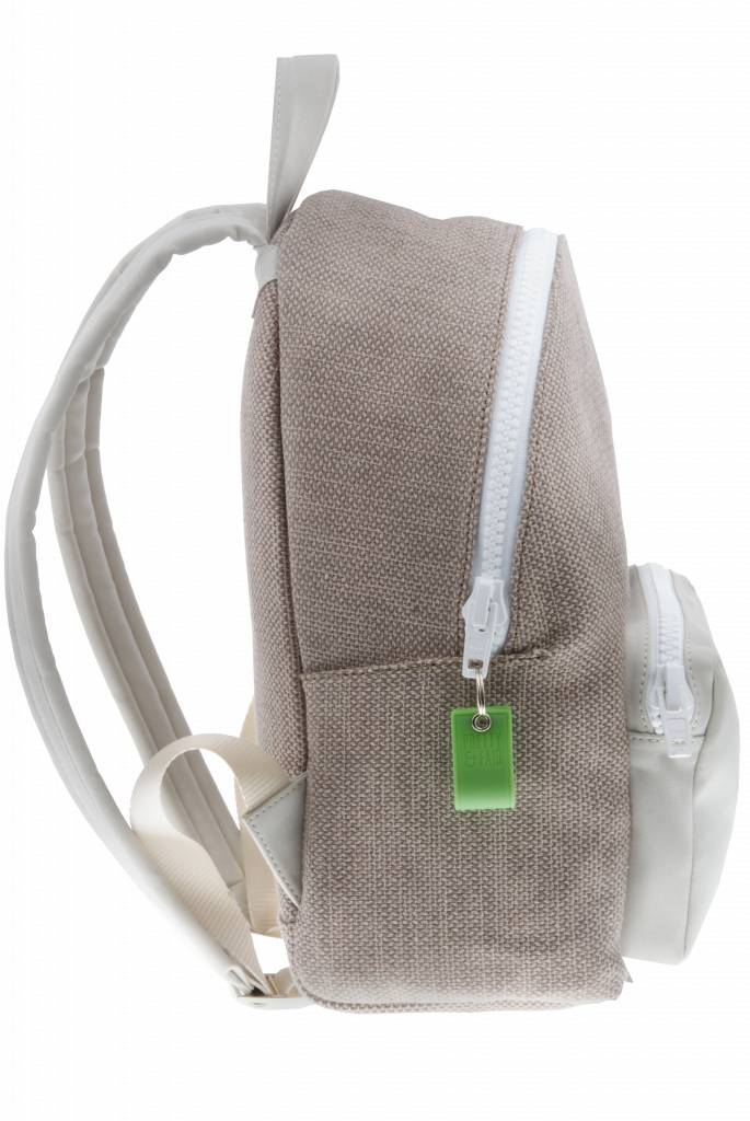 PRETTY&FAIR Backpack Recycled Taupe - Dalia Stone
