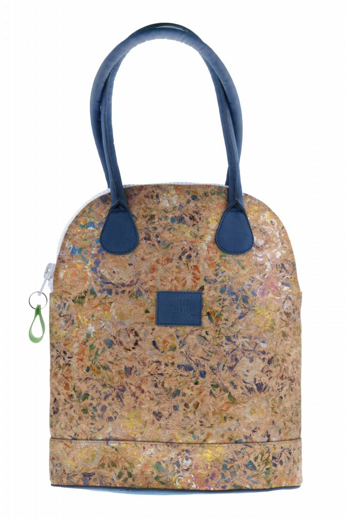 PRETTY&FAIR Bag Cork Multi - Dalia Blue