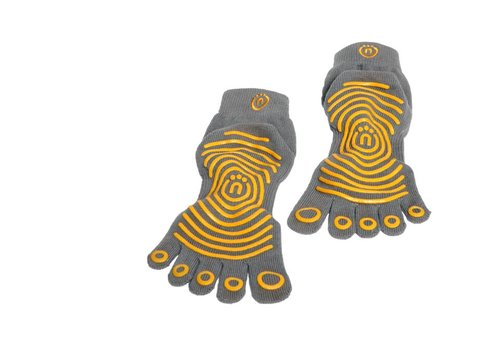 Natural Fitness Grip Socks XS/S (Carbon/Sun - 3pack)