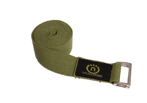 Natural Fitness Yoga Strap - Oliv