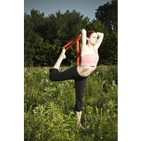 Hemp Yoga Strap - 20cm - Olive