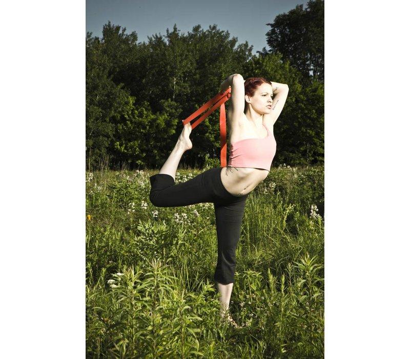 Hemp Yoga Strap -20cm - Granit