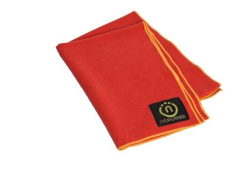Natural Fitness Yoga Mat Towel - RedRock/Sun