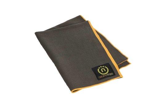 Natural Fitness Yoga Mat Towel - Carbon/Sun