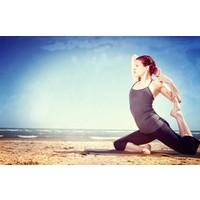 Yoga Mat Towel- Carbon/Sun