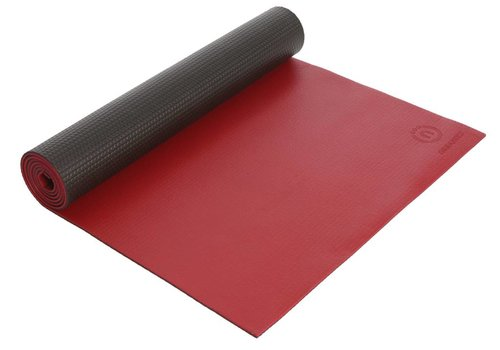 Natural Fitness Yoga Matte Warrior - Crimson