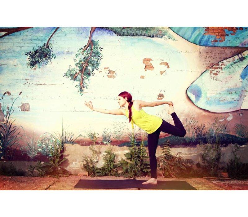 """Yoga Matte Warrior - Crimson - 24"""" x 69"""" x 5mm"""