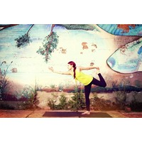 "Yoga Matte Warrior - Granit - 24"" x 69"" x 5mm"