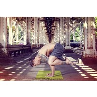 "Yoga Matte Eco-Smart - Moss/Forest - 24"" x 72"" x 6mm"