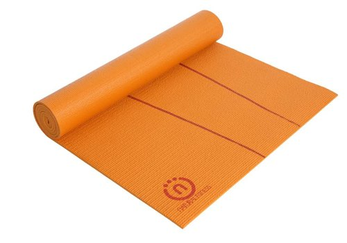 Natural Fitness Eco-Smart Yoga Mat - Orange/Red Rock