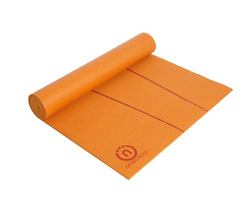 "Yoga Matte Eco-Smart - Orange/Red Rock - 24"" x 72"" x 6mm"