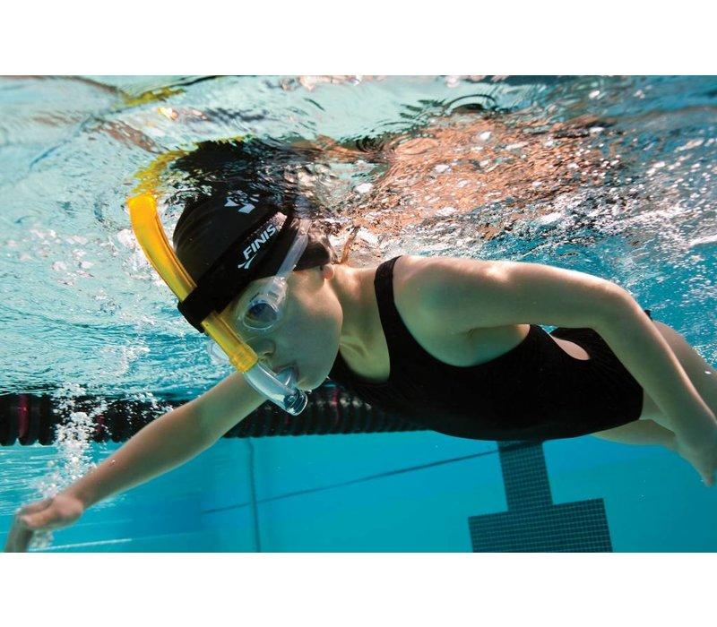Jugend Schwimmschnorchel - gelb