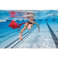 Schwimm-Fallschirm für Widerstandstraining, 8inch, rot