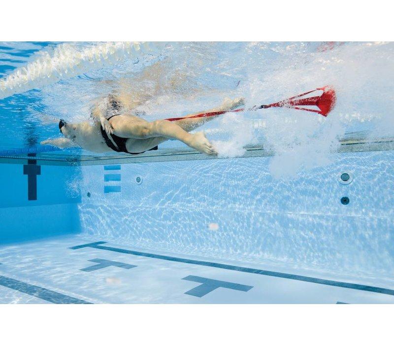 Schwimm-Fallschirm für Widerstandstraining, 12inch, blau