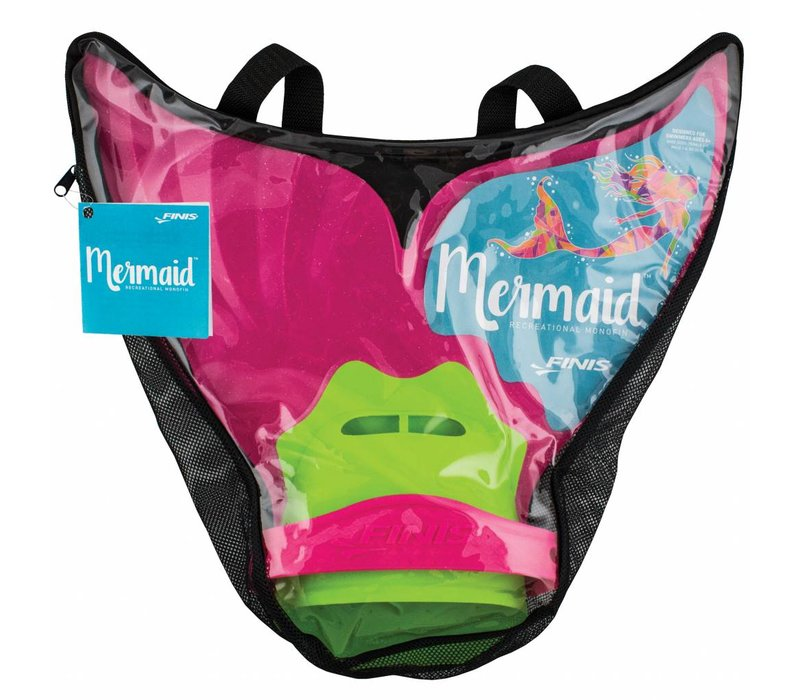 Mermaid Monofin, pacifica pink
