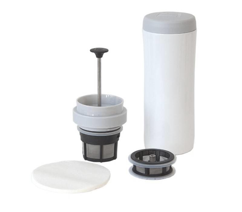 Espro Travel Press Coffee & Tea White
