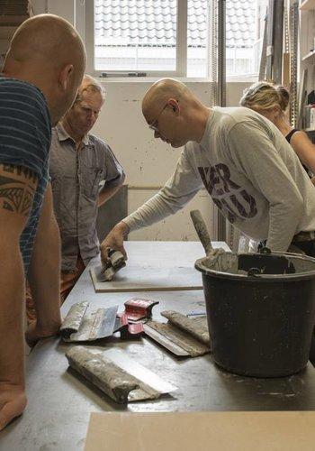 Workshop betonstuc voor doe-het-zelvers
