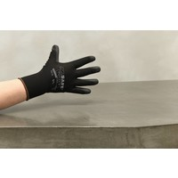 thumb-Handschoen PU-flex nylon zwart-1