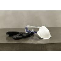 thumb-Handschoen PU-flex nylon zwart-3