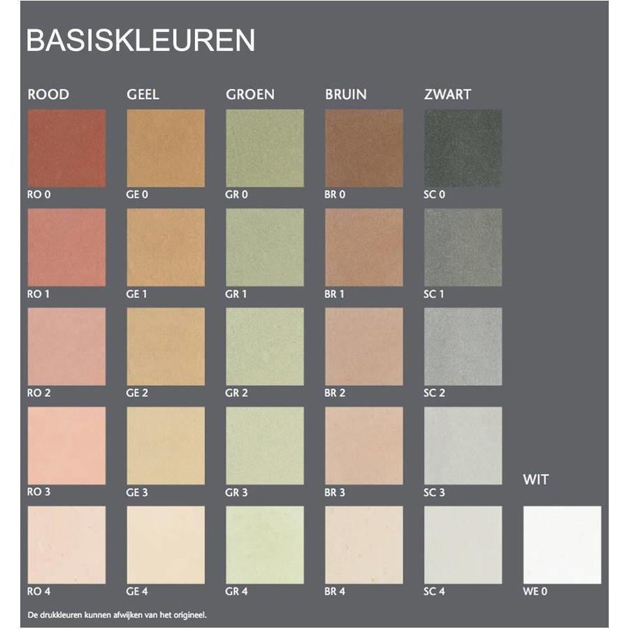 Yosima Leem Designstuc, basiskleuren, 20 kg-3