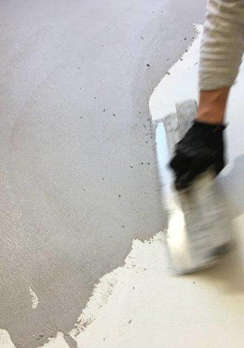 Workshop WOONVLOER in VERBAU-betonstuc kant&klaar