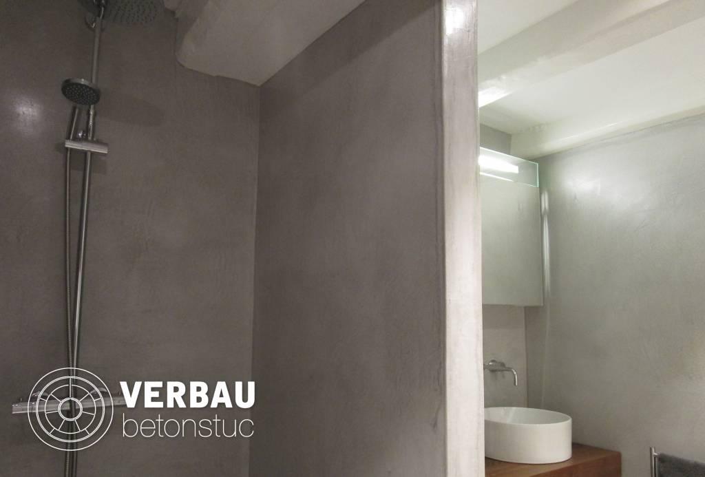 Workshop BADKAMER in VERBAU-betonstuc - VERBAU webshop - Betonstuc ...