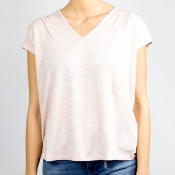 R95th Oversized V-Neck T-Shirt