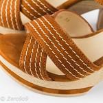 Gadea Camel brown sandals