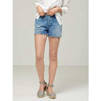 Selected Blue Denim Shorts