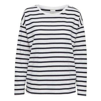 Selected Striped boatneck shirt