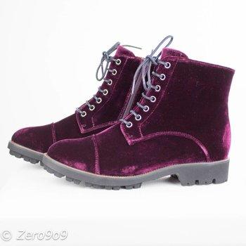 Gadea Velvet boots