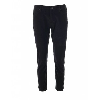 R95th Black velvet pants