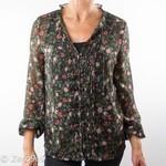 R95th Floral printed shirt