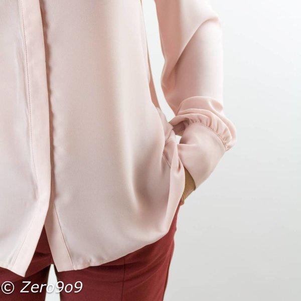 Selected Pink long sleeve shirt
