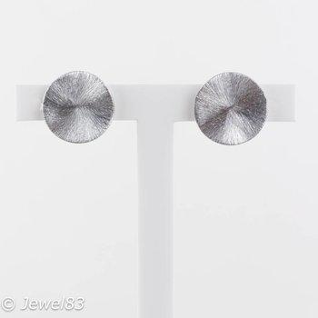 Culture Mix Silver leafs earrings