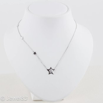 925e 3 Star Necklace