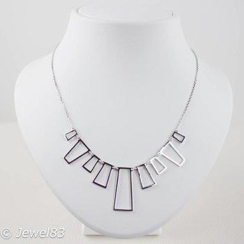925e Cubism necklace