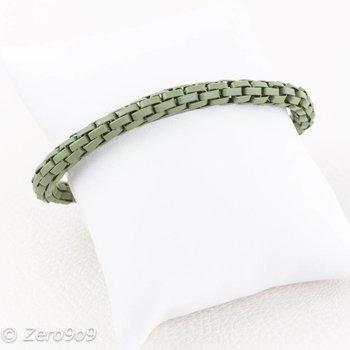 Sweet 7 Green chain bracelet
