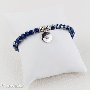 Sweet 7 Silver pendant bracelet