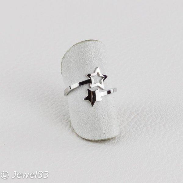 DODI Silver colored star ring