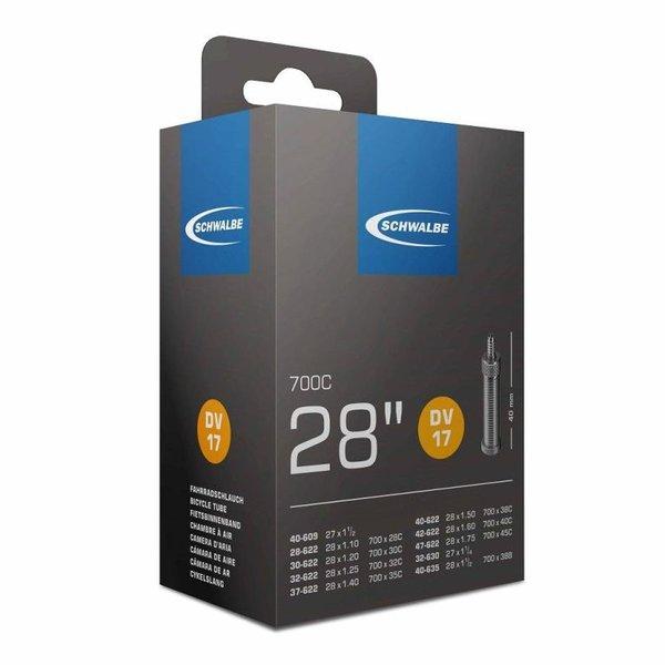 Schwalbe Binnenband Schwalbe DV17 28 inch Dunlop / Blitz Ventiel