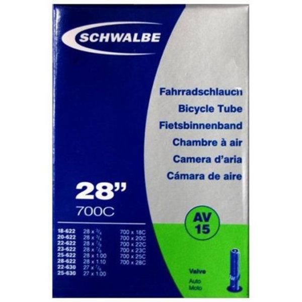 Schwalbe Binnenband Schwalbe AV15 28 inch Auto Ventiel / Schrader