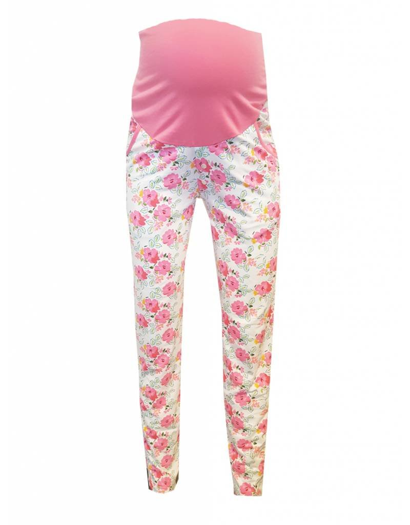 ZWANGERSCHAP PYJAMABROEK ENGLISH ROSE