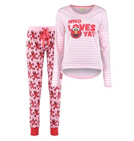 Love Elmo Dames Pyjamaset