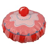 SHOWER CAP CUPCAKE