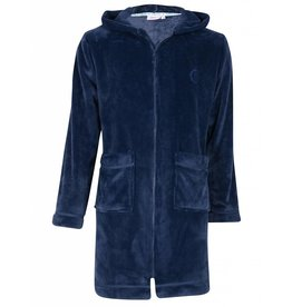 Unisex Kinderbadjas Night Blue