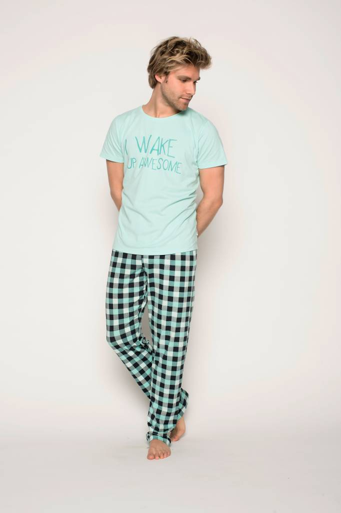 DOUBLE CHECK T-SHIRT ROUND NECK