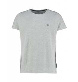 LT GREY MELEE T-SHIRT ROUND NECK